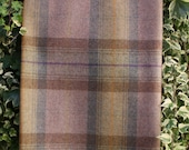 RossTweed Pure Wool Plaid Fabric - Olive Grove