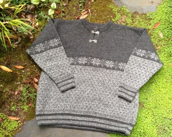 Norwegian sweater, men's L size by Norwool of Norway
