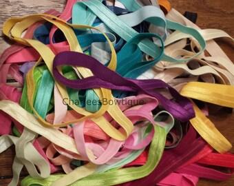 Grab Bag - 15 Headbands - 5/8 Elastic Interchangeable Headbands