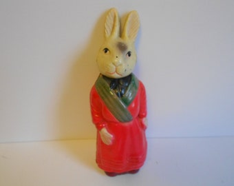 Vintage Celluloid Rabbit Bunny Animal
