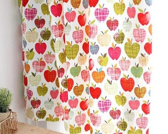 Apple Blossom Design 30s Cotton Fabric