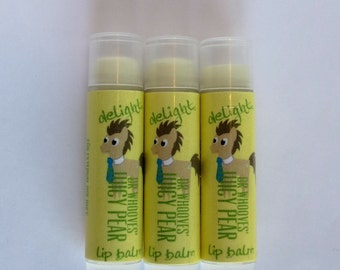 Dr Whooves' Juicy Pear Lip Balm