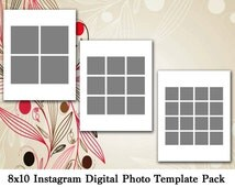 popular items for 8x10 template on etsy. Black Bedroom Furniture Sets. Home Design Ideas