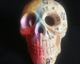 Art vs. Logic Skull