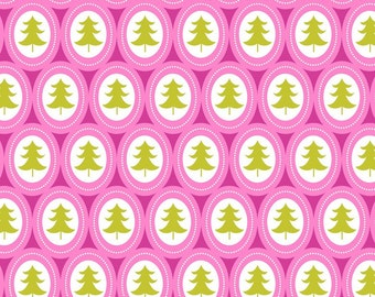 Jingles Bells in Pink TREELICIOUS from Blend by the yard