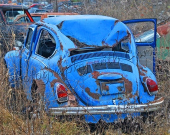 Punch Buggy Blue