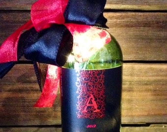 Apothic Red Lighted Wine Bottle