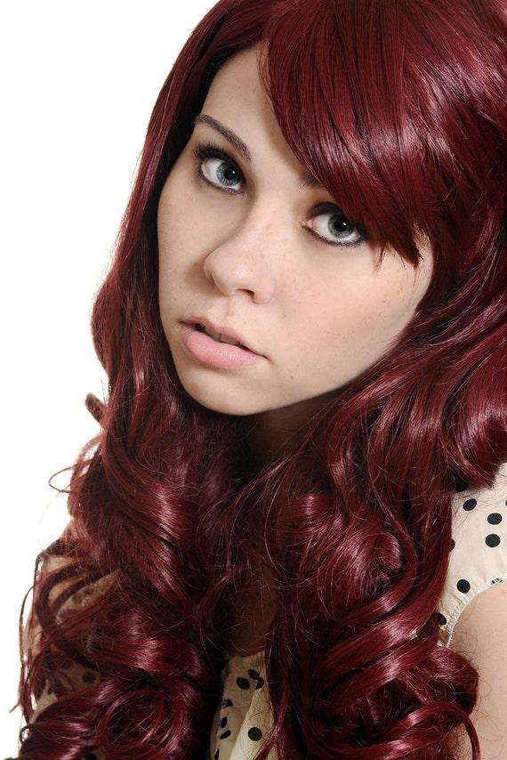 Burgundy Henna Hair Dye: Items Similar To Burgundy Red Henna Hair Color 100g