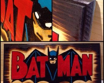 Batman woodsign