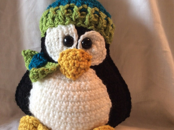 Tutorial Amigurumi Pinguino : Crochet penguin tutorial , amigurumi penguin , amigurumi ...