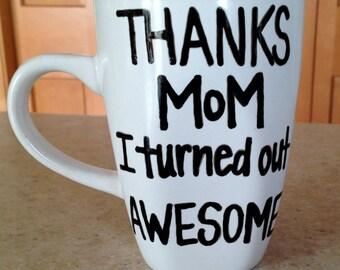 Custom Mom or Dad Coffee Mug