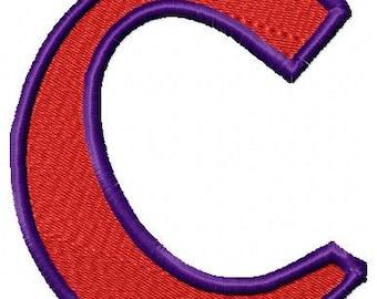 Clemson University Embroidery Logo