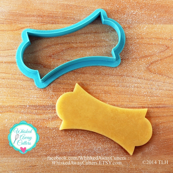 The LilaLoa Plaque Cookie Cutter - One Size - Blue or Aqua