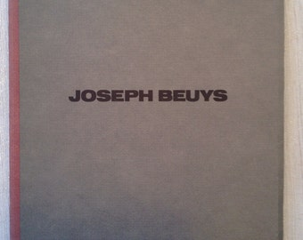 Joseph Beuys, ideas and actions, Hirschl & Adler Modern, NY, 1988, Exhibition Catalog, Contemporary Art