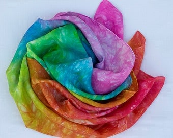 Rainbow Burst Play Silk