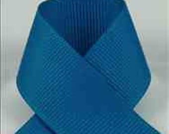 3-Inch SAPPHIRE GROSGRAIN RIBBON - Select # of Yards from Menu 1-50 yards