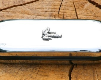 Karate Metal Pen Case & Ball Point Set Personalisable Gift