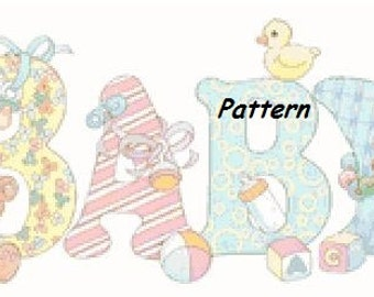 Baby. Cross Stitch Pattern. PDF Files.