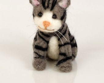Cat Needle Felting Kit