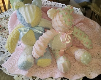 Baby Vintage Chenille Bears