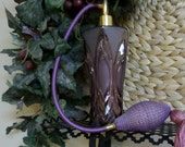 Amethyist Perfume Bottle 1940's