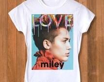 Miley Cyrus women shirt