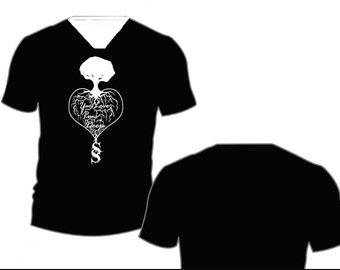 Your Love Runs Deep V-NECK t-shirt