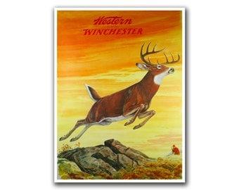 Deer Hunting Art Home Decor Sports Poster Wall Art Print (H214)
