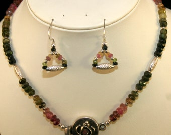 Tourmaline Necklace # 160