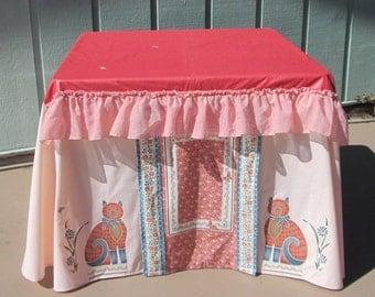 Card table playhouse Cat Design