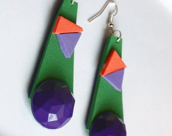 fommy earrings geometric collection