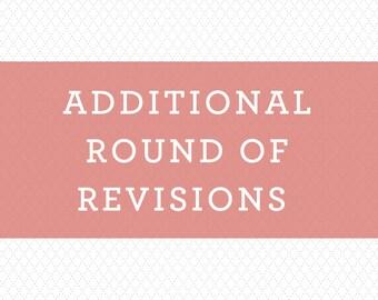 Additional round of revisions   Wedding invitation design