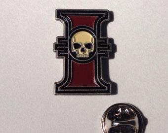 Warhammer 40k inquisition pin
