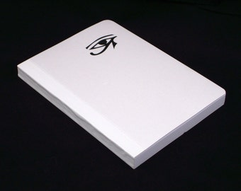 The book of Ra, A5 white cover, grid