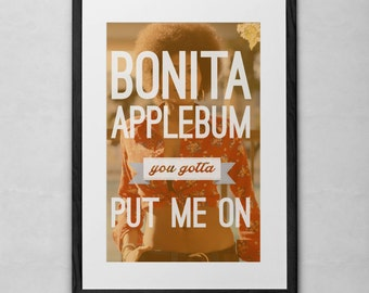 A Tribe Called Quest Bonita Applebum 11x17 Art Print