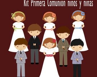 Kit digital first communion children