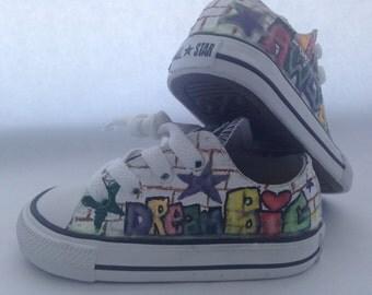 Custom Graffiti Sneakers