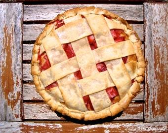 Dessert Art, Country Photo, Pie Photography, Food Photography, Kitchen Art, Kitchen Decor