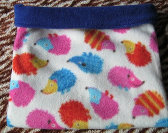 Crazy Hedgehogs Fleece Snuggle Sack for Hedgehogs/Rats/Guinea Pigs/Rabbits/Sugar Gliders