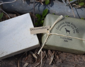 Unscented Oat Goat Milk Castile Soap