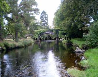 Bridge & River In Southern Ireland
