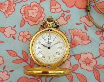 Unitron Quartz Pocket Watch