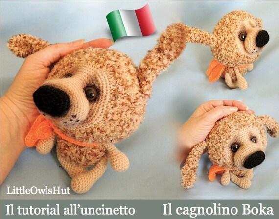 Tutorial Uncinetto Cuore Amigurumi : 099IT Il tutorial alluncinetto Il cagnolino Boka. Amigurumi