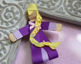 Rapunzel Ribbon Sculpture Hair Clip