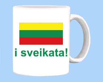 Lithuanian i sveikata or Cheers Mug