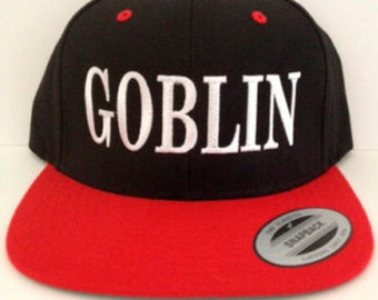Goblin  Snapback  adjustable hat Goblin hat