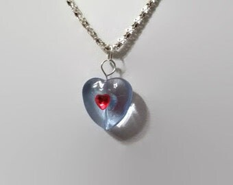 Legend of Zelda Ocarina of Time piece of heart container necklace findable heart