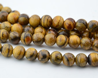 108PC Natural Slight Fragrant  Indonesia Eaglewood 8mm Bodhi Beads, Mala Finding, Buddhism Bead