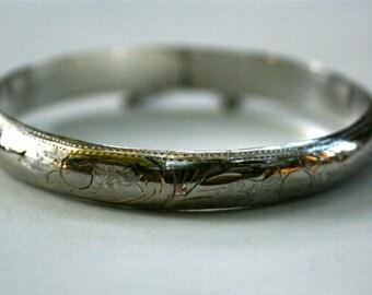 Sterling Silver Bracelet, Bangle