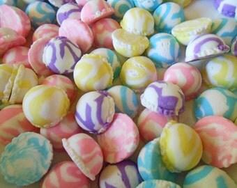 18 mm Ice Cream Scoop - Ice Cream Scoop Cabochon - Decoden Cabochon ( 8 pcs ) - Sorbet - Pastel Color Scoop - Clay Ice Cream Cabochons